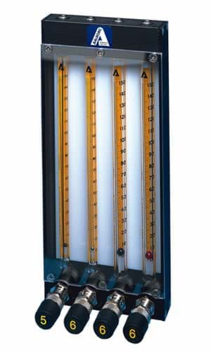 Picture of Px Series Multiple Tube Flow Rotameters