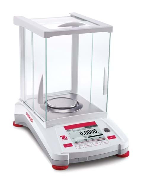 Picture of Ohaus AX224/E Adventurer AX Series Analytical Balance, 220g, 0.1mg