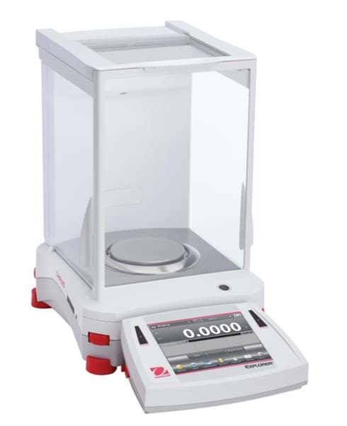 Picture of Ohaus EX224N Explorer EX Series Analytical Balance, 220g, 0.1mg (1mg)