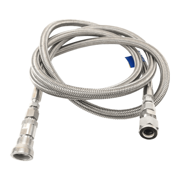 "Picture of Filling Hose, Sample Source to Cylinder, Braided Stainless Steel Hose, 72"" Length"