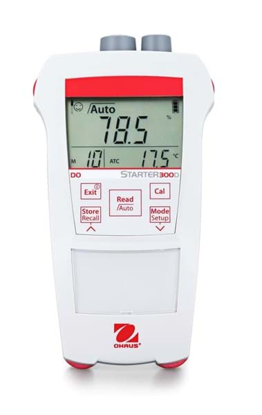 Picture of Ohaus ST300D-G Portable Dissolved Oxygen (DO) Meter, Full Kit with Carry Bag