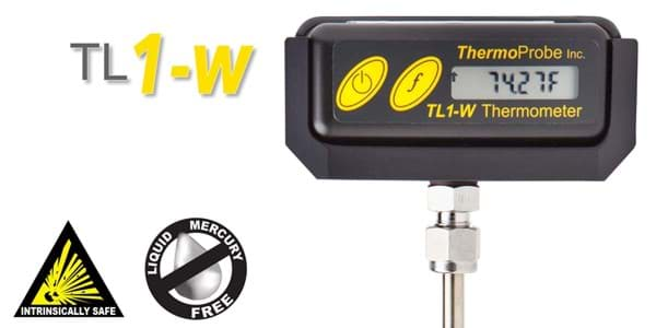 Picture of ThermoProbe TL1-W, Rugged Digital Stem Thermometer