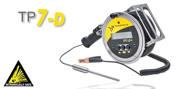 Picture of ThermoProbe TP7-D, Portable Gauging Thermometer