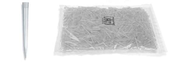 Picture of Standard Pipette Tips, 1 to 10 mL, Non-Sterile, Colorless, Bulk, 1000 Each
