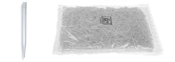 Picture of Standard Pipette Tips, 0.5 to 5 mL, Non-Sterile, Colorless, Bulk, 200 Each