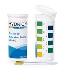 Picture of Hydrion™ #9400 Spectral 5.0-9.0 Plastic pH Indicator Strips