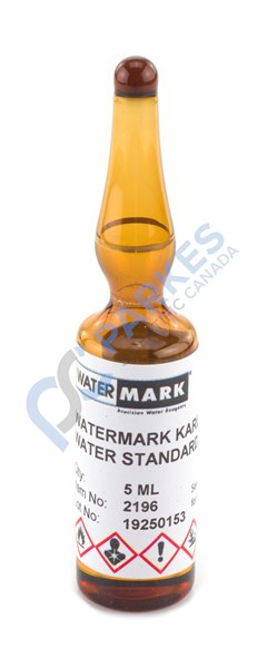 Picture of Watermark Karl Fischer Water Check Standard, 1.0 mg/mL (1000 ppm)