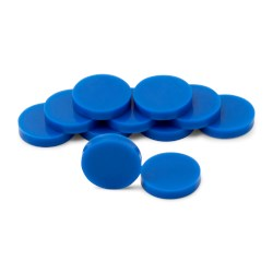 Picture of Blue Septas, 16mm, Pack of 10