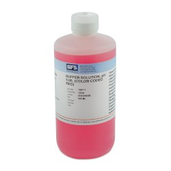 Picture of Buffer Solution, Item # 1634, pH 4.00, (Color Coded Red), NIST Traceable