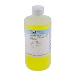 Picture of Buffer Solution, Item # 1639, pH 7.00, (Color Coded Yellow), NIST Traceable
