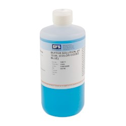 Picture of Buffer Solution, Item # 1645, pH 10.00, (Color Coded Blue), NIST Traceable