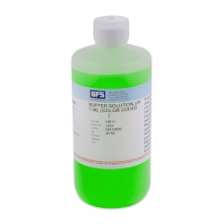 Picture of Buffer Solution, Item # 1640, pH 7.00, (Color Coded Green), NIST Traceable