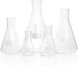 Picture of DURAN® Erlenmeyer Flasks, Narrow Neck, Borosilicate Glass