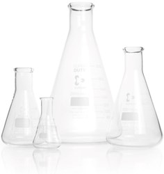 Picture of DURAN® Super Duty Erlenmeyer Flasks, Narrow Neck, Borosilicate Glass