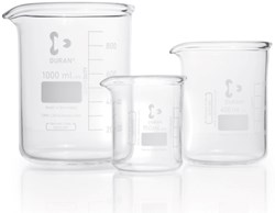 Picture of DURAN® Super Duty Low Form Griffin Beakers, with Spout, Borosilicate Glass