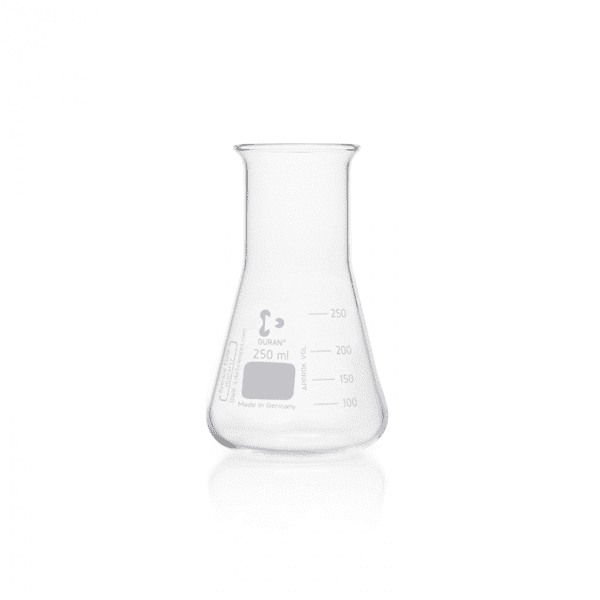 Picture of DURAN® Erlenmeyer Flasks, Wide Neck, Borosilicate Glass
