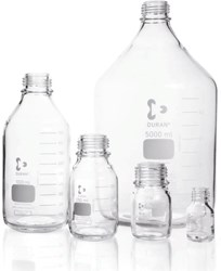Picture of DURAN® Original Laboratory Bottles, without Cap and Pour Ring, Borosilicate Glass