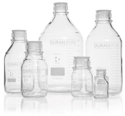 Picture of DURAN® PURE Laboratory Bottles, without Screw Cap and Pour Ring, Borosilicate Glass