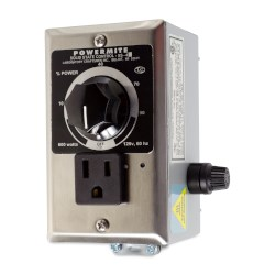 Picture of Powermite Heat Controller, Solid State, Portable or Wall Mount, 120V, 500W, Includes Cord