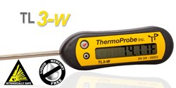 Picture of ThermoProbe TL3-W, Handheld Digital Stem Thermometer, Weather Resistant
