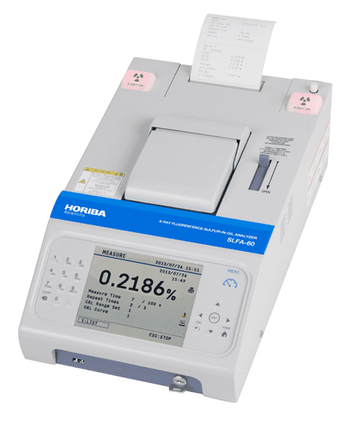 Picture of Horiba SLFA-60 Sulfur-in-Oil Analyzer