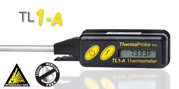 Picture of ThermoProbe TL1-A, Digital Stem Thermometer