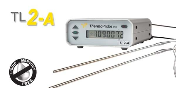 Picture of ThermoProbe TL2-A, Precision Bench-Top Thermometer