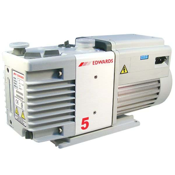 Picture of Rotary Vane Vacuum Pump, RV5, Two Stage, 120V / 60Hz, Single Phase