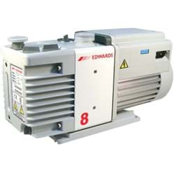 Picture of Rotary Vane Vacuum Pump, RV8, Two Stage, 120V / 60Hz, Single Phase